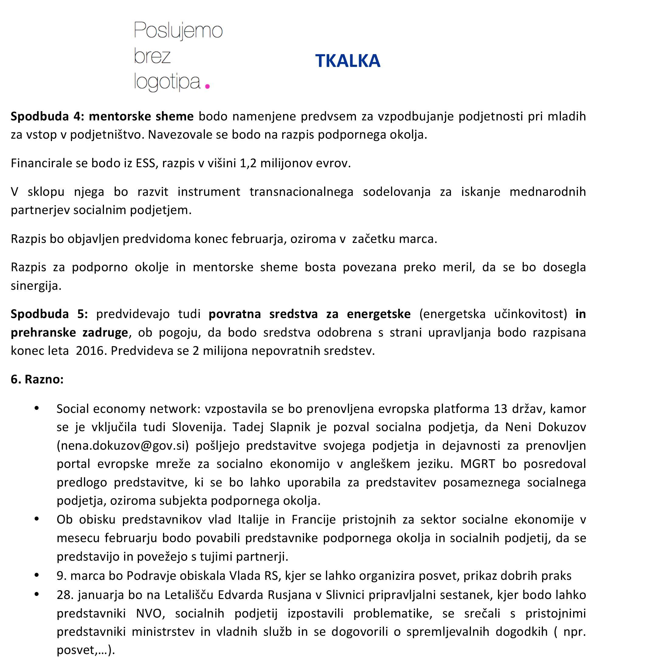 Microsoft Word - Poudarki sestanka socialnih podjetij iz Podravj